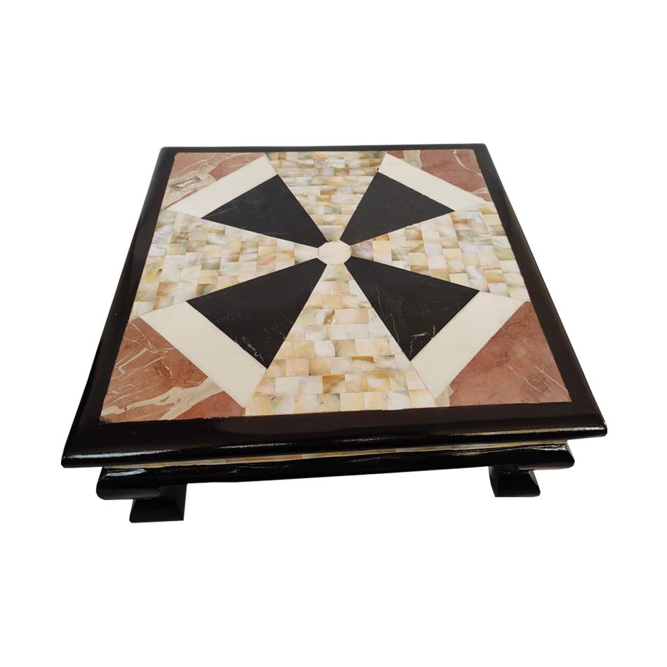 Chowki with marble and seep work