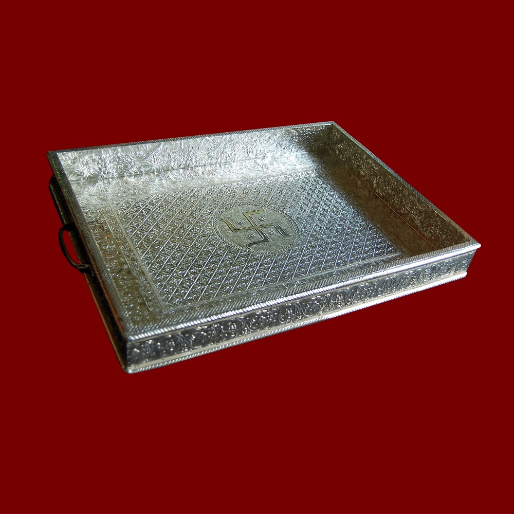 German Silver Tray