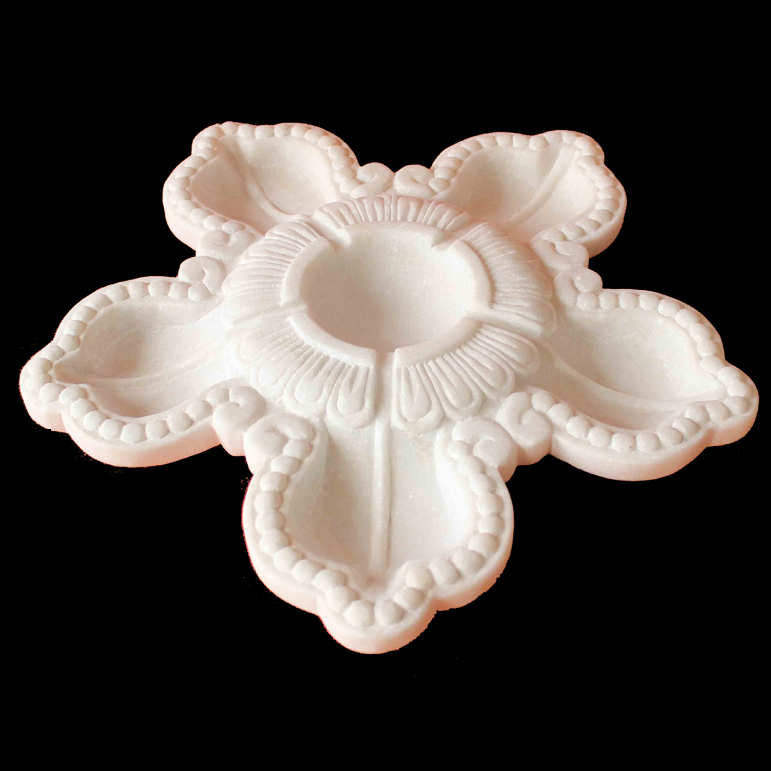 White Marble Urli